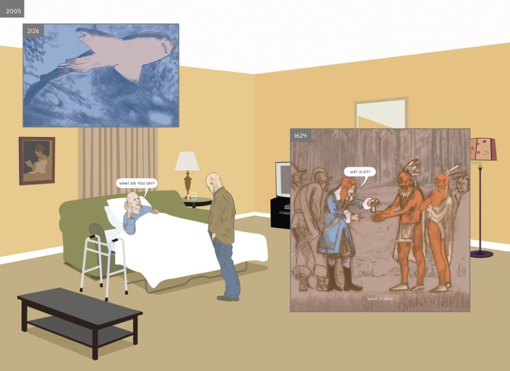 richard mcguire graphic novel climate change