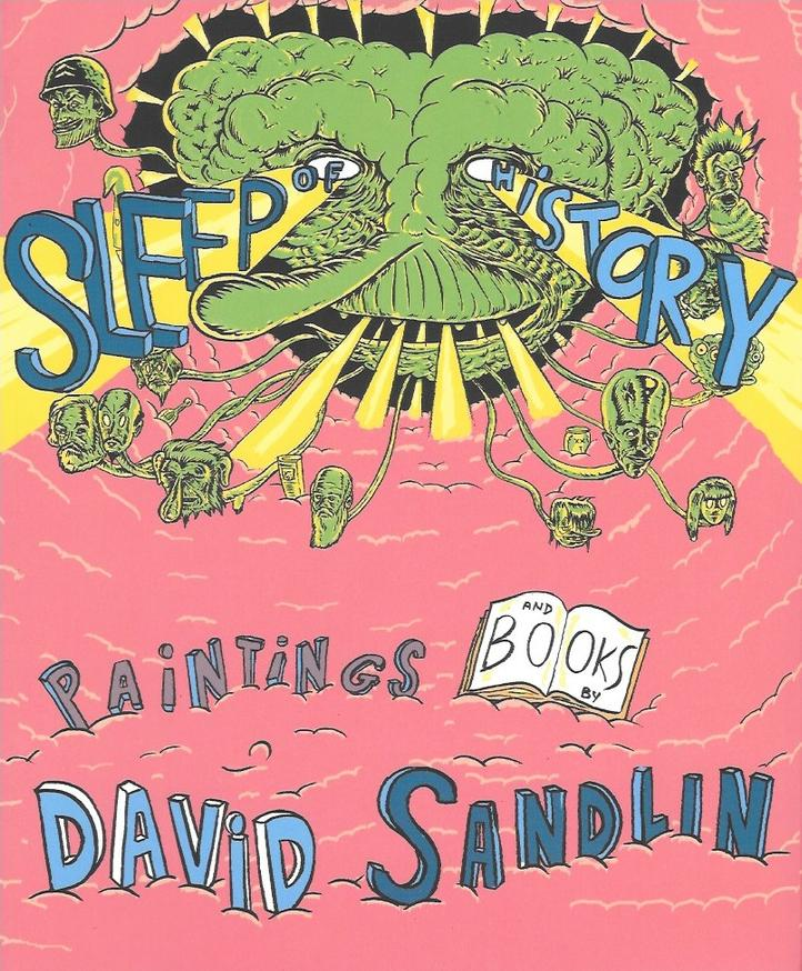 David Sandlin painter comics sleep history