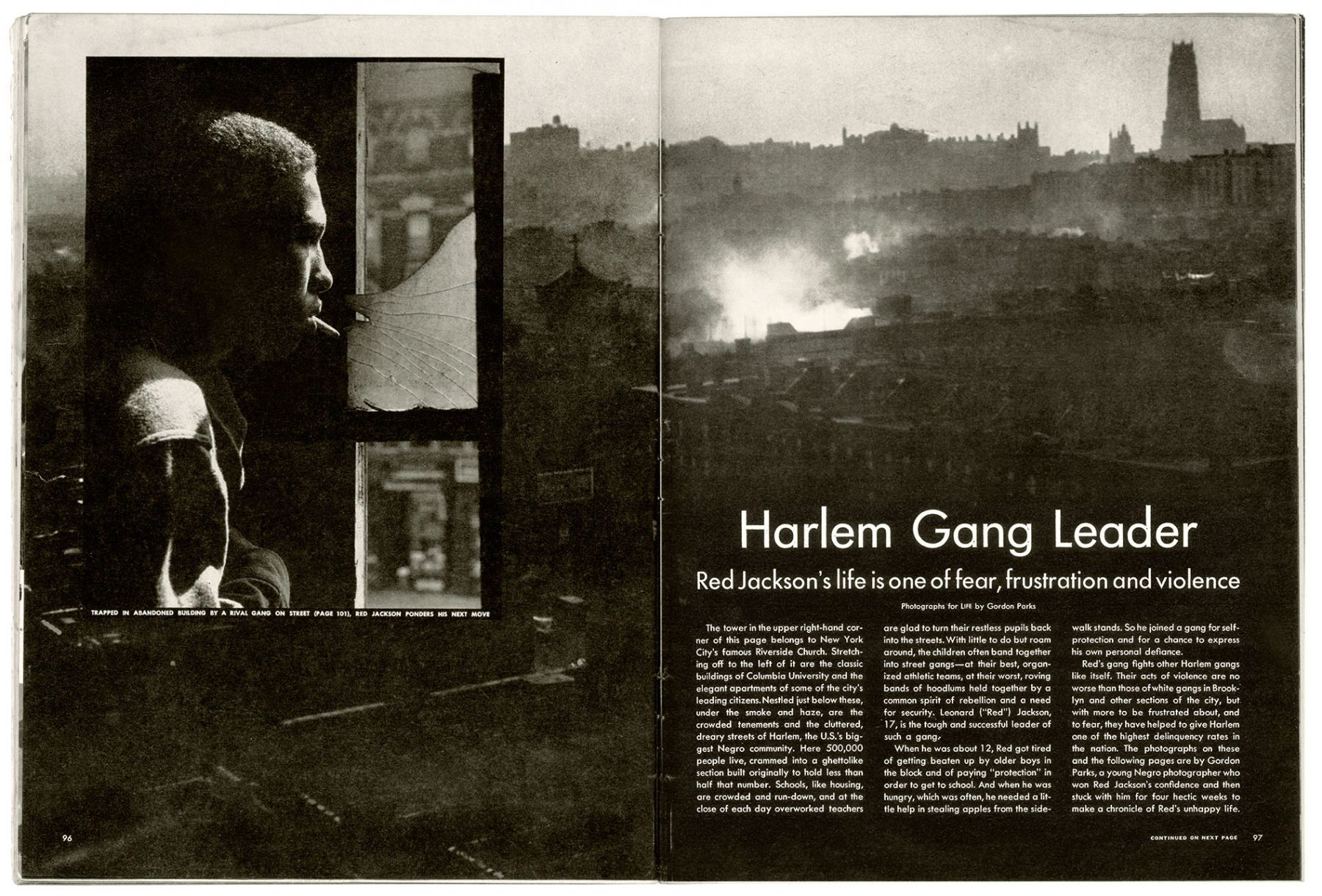 Gordon Parks photography harlem